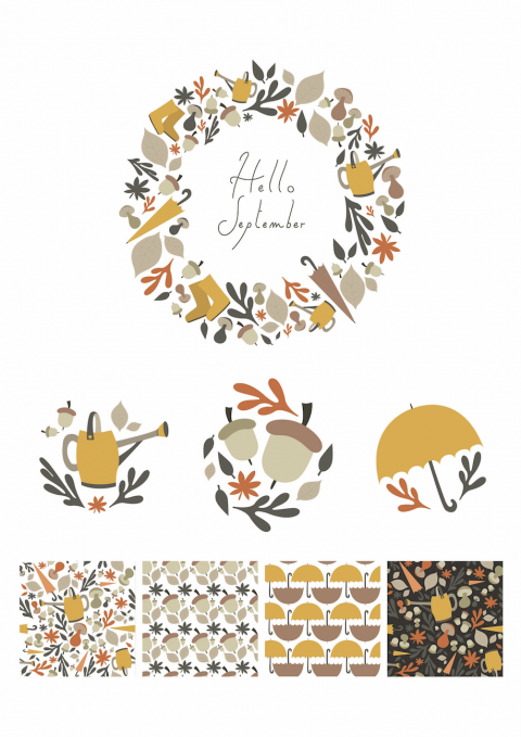 Hello September! – Patterns collection